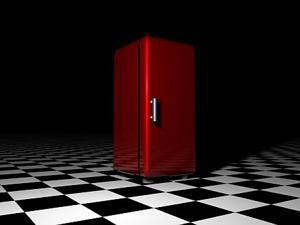 Jednodveřová lednice