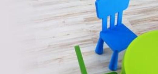 zidle pro deti