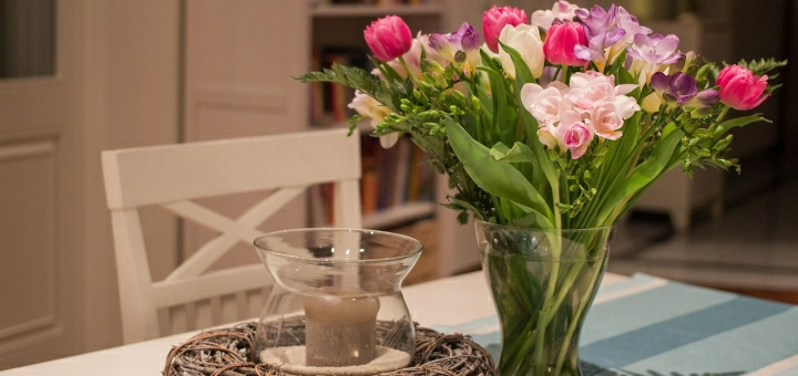 svicka a kvetiny