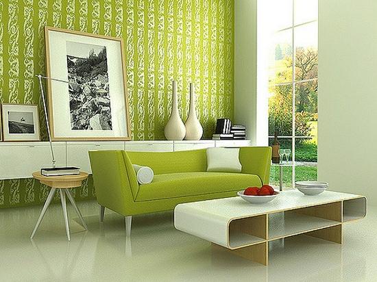 zeleny-interier